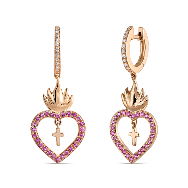 Earrings of Amulets of Frida, PE19103-ORZR_V