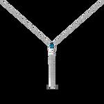 Blue Berlin pendant, PT19039-AGTPLN_V