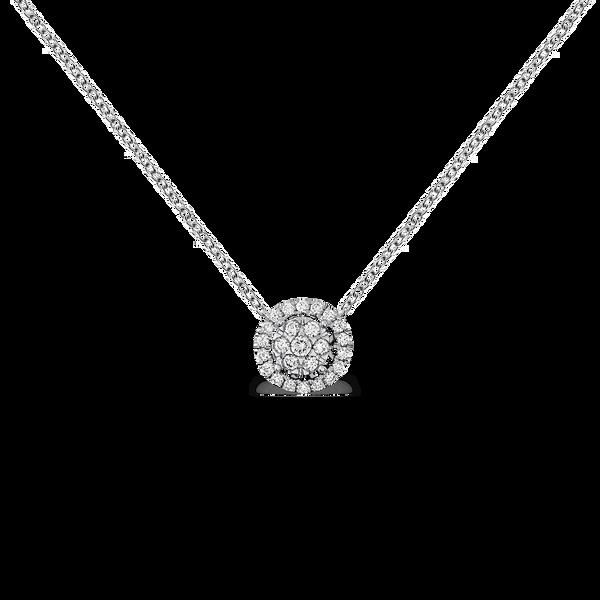 White gold pendant, PT11016-00D_V