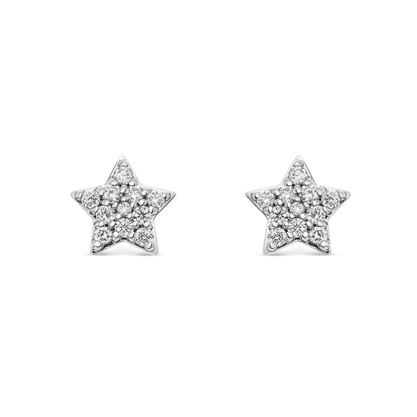 White gold earrings, PE14019-OBD_V