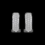 White gold earrings, PE6088-00D_V