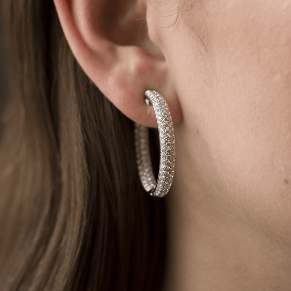 White gold earrings, PE7088-OBD35_V