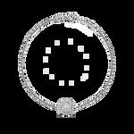 White gold bracelet, PU16019-OBD_V