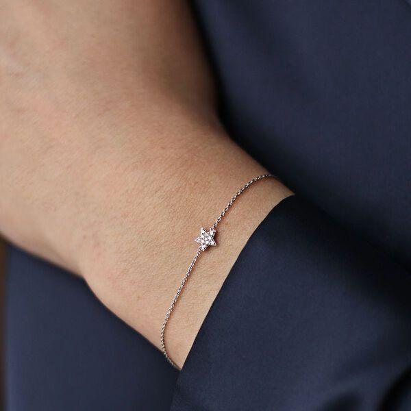 White gold bracelet, PU16031-OBD_V