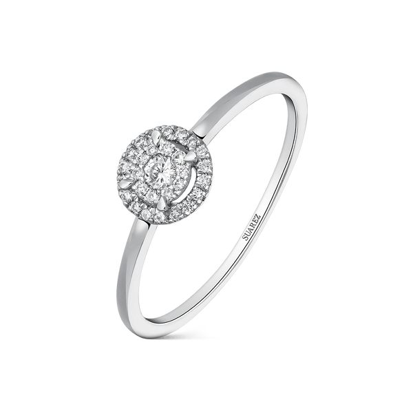 White gold ring, SO16029-OBD_V