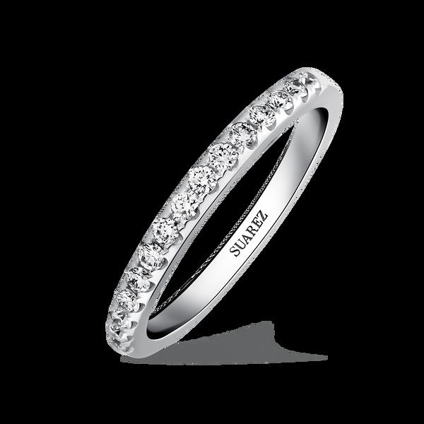 2020 mejor precio para límpido a la vista Engagement ring | Joyería Suarez