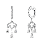 Labyrinth earrings, PE19039-OBD