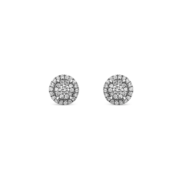 White gold earrings, PE16055-OBD_V