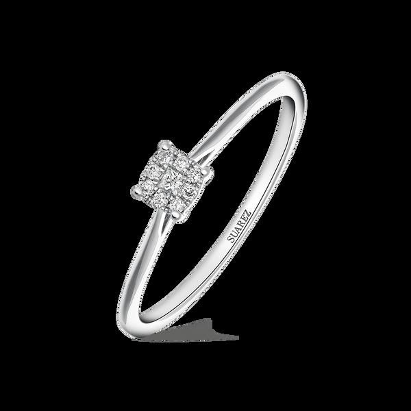 White gold ring, SO17056-OBD_V