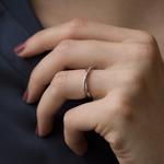 White gold ring, SO16043-OBD_V