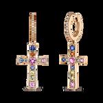 Earrings of Amulets of Frida, PE19105-ORZMULT_V