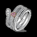 Romeo and Juliet ring, SO17161-OBORDZR_V