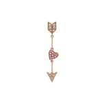 Romeo and Juliet earrings, PE17114-ORDZR_V