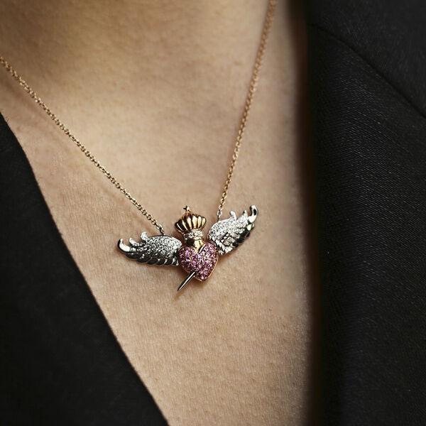 Rose gold pendant, PT17046-OBORDZR_V