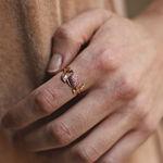 Rose gold ring, SO17154-ORZR_V
