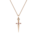 Rose gold pendant, PT17040-ORDZR_V