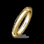 Yellow gold wedding band, AL8013_OA_V