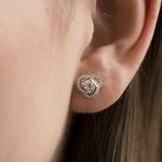 White gold earrings, PE16058-OBD_V