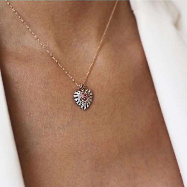 Amulets of Frida pendant, PT17003-OBORZRDDM_V