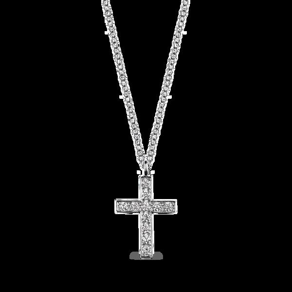 White gold pendant, CR12005-OBD69C_V