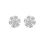 White gold earrings, PE16051-OBD_V
