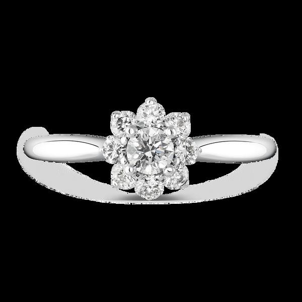Engagement ring, SL15001-IGD020/FVS2_V