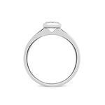 White gold ring, SO14025-OBD_V