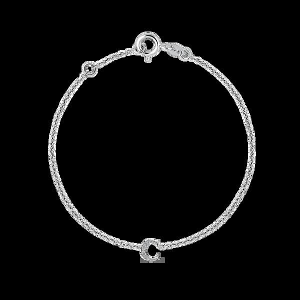 White gold bracelet, PU17028-OBDC_V