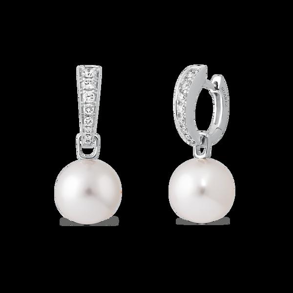 Pearls earrings, PE16028-OBPAD3_5_V
