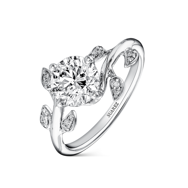 White gold ring, SO19033-OBD/001_V