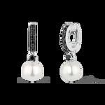 Pearl earrings, PE16095-AGPAESP_V