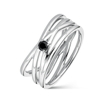 Argento ring, SO19011-AGESP_V