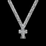 White gold pendant, PT14008-OBD_V