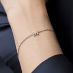 White gold bracelet, PU17028-OBDM_V