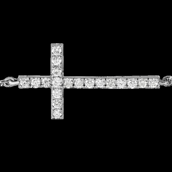 White gold bracelet, PU14019-OBD